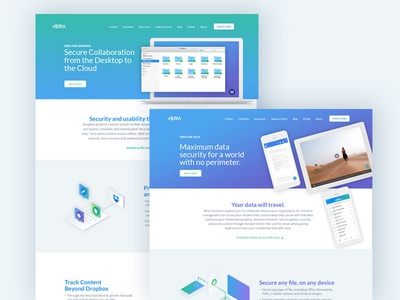 Vera Product Pages