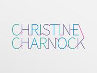 Christine Charnock - Branding typography vector logotype logo branding