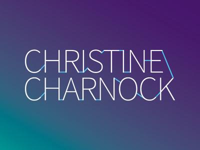 Christine Charnock - Logo Variation vector typography logotype logo branding