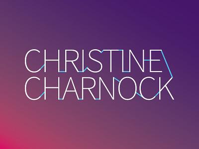 Christine Charnock - Branding Variation vector typography logotype logo branding