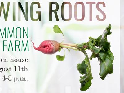 Open House Farm Poster