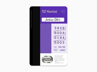 Kontist Card Back