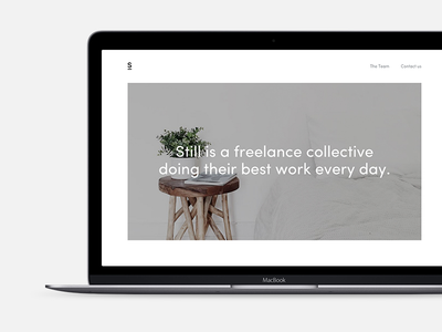 Still clean simple collective freelance minimal