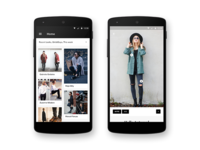 Lookbook Android Home/Detail