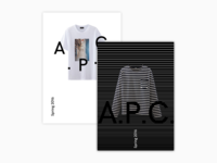 A.P.C. Poster