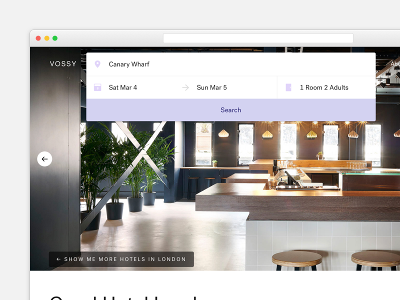 Vossy Property Search property hotel vossy form search