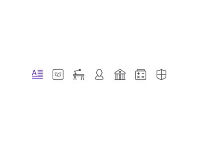 Blog Category Icons