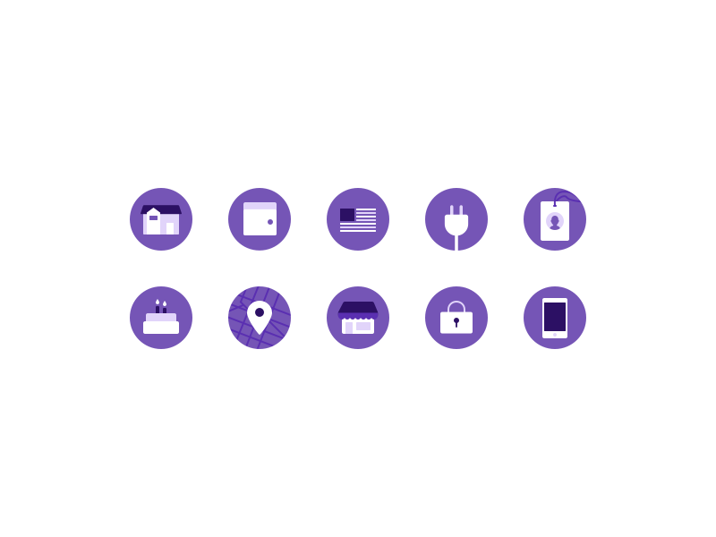 Kontist Icon System illustration big icons