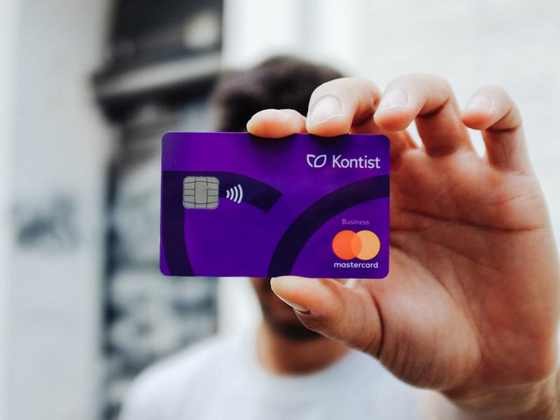 Kontist Mastercard kontist design mastercard