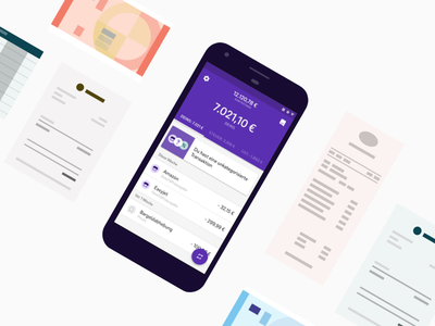 Feature Page Visual design visual banking