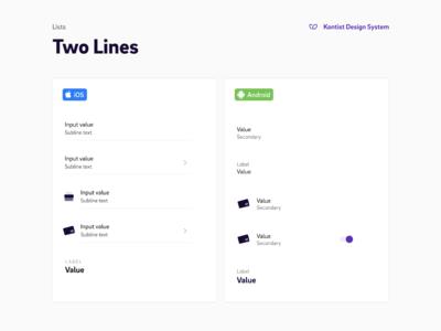 Kontist Mobile App Design System Documentation