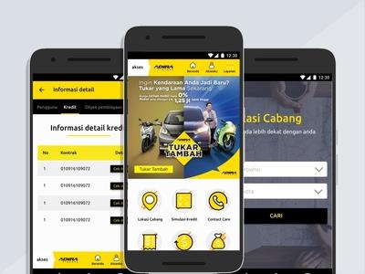 Akses Adira android App android ui adira android app