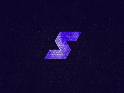 S1 isometric monogram typogaphy 36daysoftype aletteraday dz 30daychallenge design logo