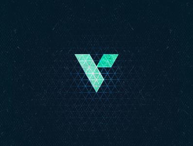 V1 monogram isometric typogaphy 36daysoftype aletteraday 30daychallenge algeria design logo