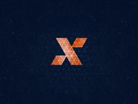 X1 dz x monogram typogaphy isometric 36daysoftype aletteraday 30daychallenge design logo