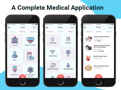 A Complete Medical Application