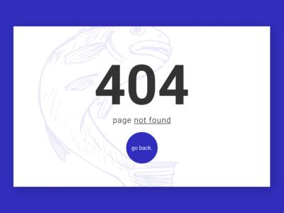 404 page - DailyUI 008