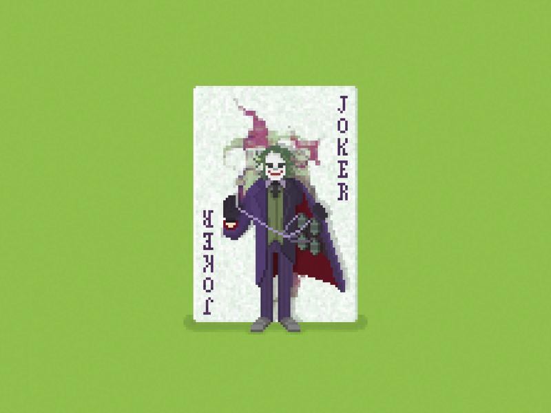 Do I Really Look Like a Guy with a Plan? pixels dc comics comics heath ledger the joker batman pixel art the dark knight