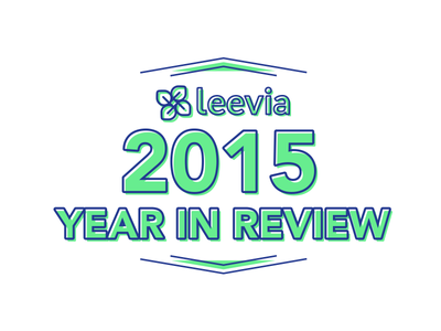 Leevia 2015 Year in Review infographic 2015 adobe illustrator vector typography year in review leevia