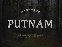 Putnam Vintage Typeface