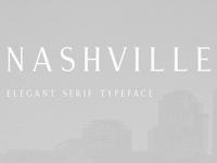 Nashville | An Elegant Serif Typeface