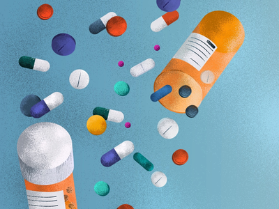 Pills for happiness? photoshop illustrator graphicdesign pills art editorialillustratration editorials digitalillustration illustrationart illustration
