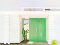 Palm Springs tour doors < green >
