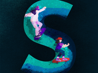 S for skaters