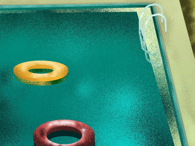 Swimming pool. flatdesign vectornator photoshop texture digitalillustration summer summertime illustrationart illustration pool