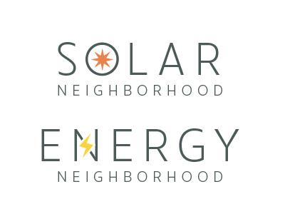Solar / Energy Neighborhood