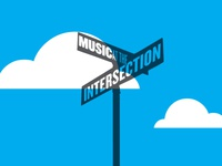 Music at the Intersection logo