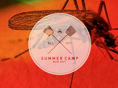 Summer Camp ID camp bug fly swatter mosquito