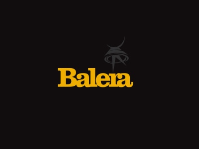 Balera wordmark ligature dance