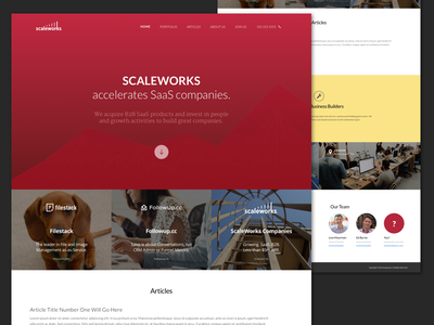 One pager landing layout responsive single page one page website web design web ux ui