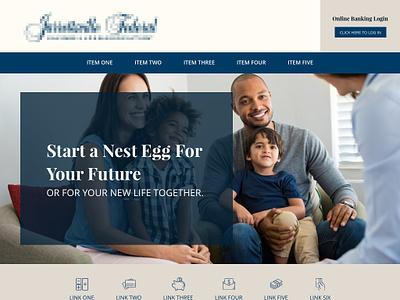 Homepage Mockup mockup website web design web landing page