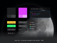 CSS Optimizer — Components design system color kit dashboard developer style kit style guide library component night theme dark dark theme