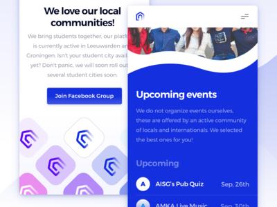 deHuyskamer — Community Page Mobile