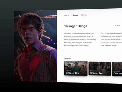 TV Shows Concept Design netflix concept motion design motion animation prototype tv shows theater movie app movie cinema