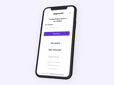 E-commerce — Mobile Webshop online shop webwinkel mobile filter menu motion design animation mobile ecommerce product detail page product overview webshop
