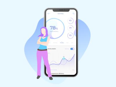 SportApp mobile UI v2