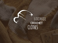 Handmade crochet clothes: logo