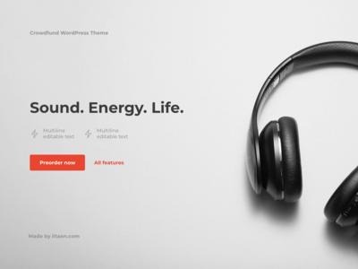 Experimental promo site