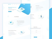 Yourbourse Landing Page Design