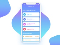 App for exam preparation and testing