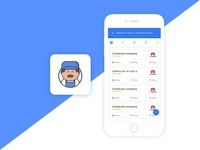 Car Mehanic Mobile App Concept
