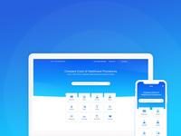 Healthcare Web Mobile UI/UX