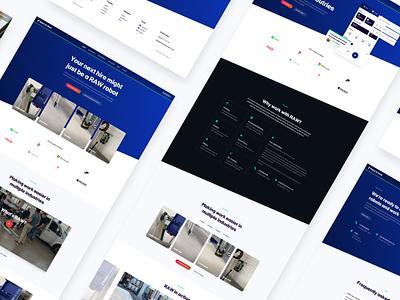 RAW — Web Design raw website ui design landing page web design web webdesign