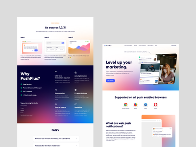 Landing Page Design branding web design landing page ui design webdesign web
