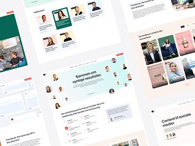 Web Design - PL & Partners branding web design ui landing page design webdesign web