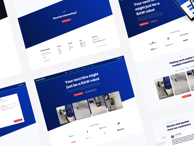 Key Selling Point Section - RAW Web Design branding ui web design landing page design webdesign web